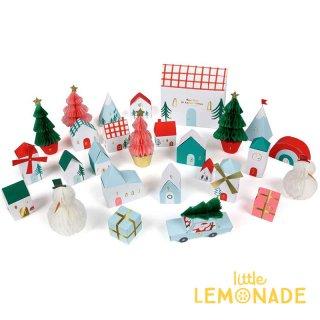 【Meri Meri】ヴィレッジ アドベントカレンダー 【advent calender DIYキット】 ビレッジ 子供へのクリスマスギフト(179164)