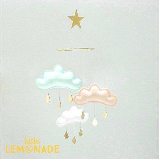 【 the butter flying 】 雲のモビール light irina【ザ バター フライング】 インテリア クラウドモビール インポート雑貨 子供部屋 ベビー雑貨 北欧 リトルレモネード