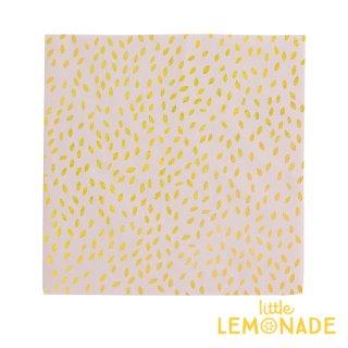 【my little day マイリトルデイ】Pink x Gold Seeds ペーパーナプキン 16枚入り ピンク ゴールド  誕生日 お祝い ペーパータオル】(MLD-SERIROORM)