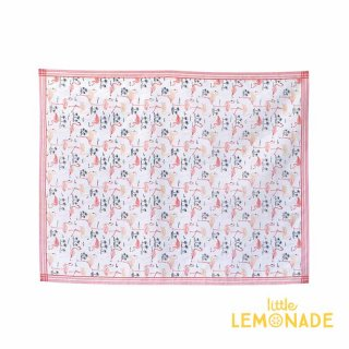 ピンクフラミンゴ のテーブルクロス 140×180cm【レジャーシート キャンプ ピクニック ピンク】(SHLH1053)