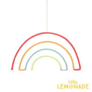 【Meri Meri】 ウールモビール  レインボー ハンギングデコレーション 虹 オーナメント インテリア 装飾30-0238/173431)