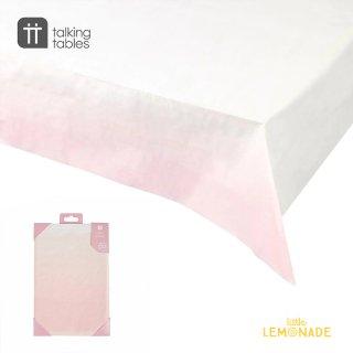 【Talking Tables】テーブルカバー/オンブレピンク 紙製(PINK-TCOVER ) トーキングテーブルス