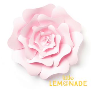 【Echo Park Paper】ジャイアントペーパーフラワー ライトピンク ローズ◆Lサイズ◆ (3DR008) ◆SALE