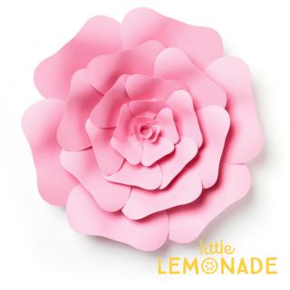 【Echo Park Paper】ジャイアントペーパーフラワー ピンク ローズ◆Lサイズ◆ ウ (3DR009) ◆SALE