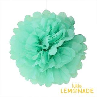 【ENGEL】ポンポン 25cm ミントグリーン 【フラワーポム 緑 MINT GREEN ティッシュフラワー 】