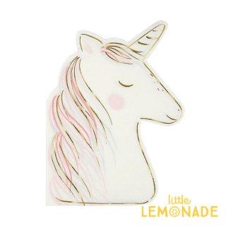 【Meri Meri】ユニコーン ペーパーナプキン 16枚入り unicorn (45-3497/173602)