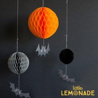 【my mind's eye マイマインズアイ】ハニカムボールとコウモリのハンギングデコレーション Honeycomb Bat Decor(HWP602) ■SALE 25%OFF