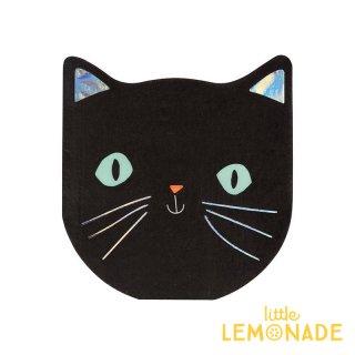 【Meri Meri】ハロウィン 猫 ペーパーナプキン ハロウィンパーティー 紙ナプキン (45-3728/179110)