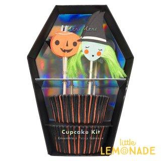 【Meri Meri】 ハロウィン ピック&ケース カップケーキキット HALLOWEEN CUPCAKE KIT (45-3720/179047)