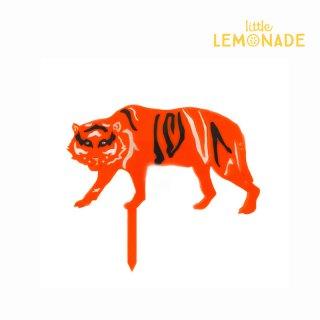 【Eleanor Moss】タイガー ケーキトッパー 【可愛い トラ Tiger 虎 アニマル デコレーション お祝い 男の子 女の子 誕生日 】 (TIGR-001)