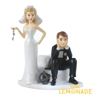 【wilton】ウェディング ケーキトッパー ボール&チェーン【披露宴 ケーキバイト wedding cake topper】(1006-7143 )