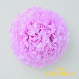 【ティッシュフラワー】【フラワーポム】 ビッグポンポン35cmピンクパープル【4個までメール便配送可】【パープル ピンク】