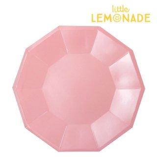 【illume partyware】ピンク フォイル ペーパープレート【大 直径23cm】10枚入り(ID-LPLATE-040)