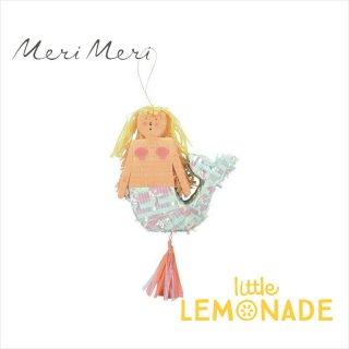 【Meri Meri】 マーメイドのピニャータ ミニサイズ (コンフェッティとタトゥーシールのセット) (45-3207/167815)