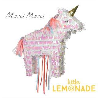【Meri Meri】 ユニコーンのピニャータ 高さ46cm 組み立て式 DIY (45-3206/167806)
