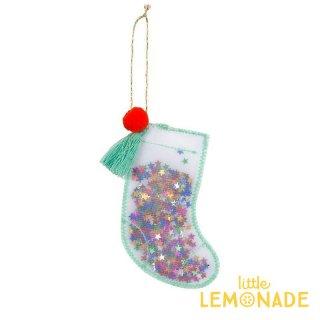【Meri Meri 2018】クリスマス オーナメント オーガンジー素材のクリスマスストッキング【Stocking】【ツリー 飾り クリスマスツリー】(60-0102/180361)