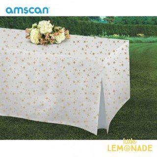 【amscan アムスキャン】お星さまのテーブルカバー【テーブル コーディネート スタイリング 誕生日 パーティー】(570047)