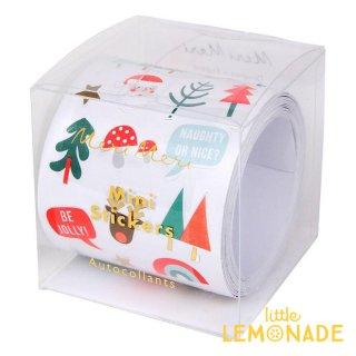 【Meri Meri】クリスマスアイコン シールセット ステッカーロール (45-2978/162730)