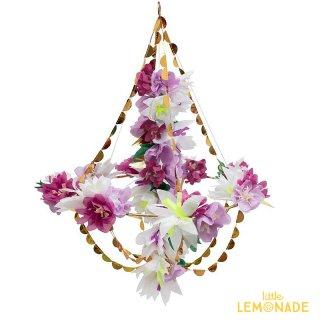 【Meri Meri】ライラック ブロッサム フラワーシャンデリア Lilac Blossom Chandelier(45-4371/188827)