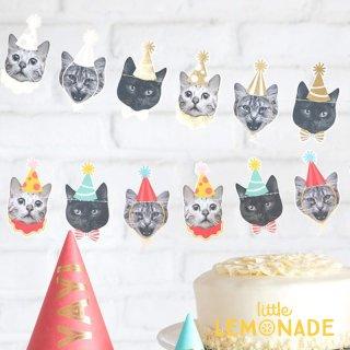 【my mind's eye マイマインズアイ】キャットバナー CAT BANNER 猫のパーティーガーランド(PGB705)