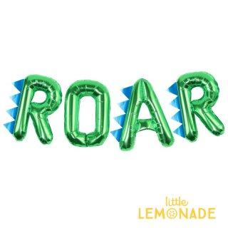 【Ginger Ray】文字のフィルムバルーン ROAR 恐竜  DINOSAUR レターバルーン (RR-306)