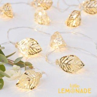【Ginger Ray】ゴールドリーフ ワイヤーライト 結婚式 装飾 飾り付け デコレーション インテリア(GO-141)