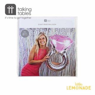 【Talking Tables】マリッジリング フィルムバルーン(WHT-BALL-RING) トーキングテーブルス