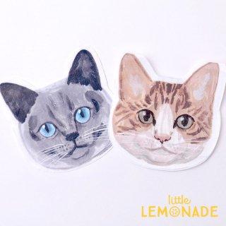 ネコのペーパーナプキン 2柄 20枚入り 紙ナプキン cat paper napkin 小池ふみ