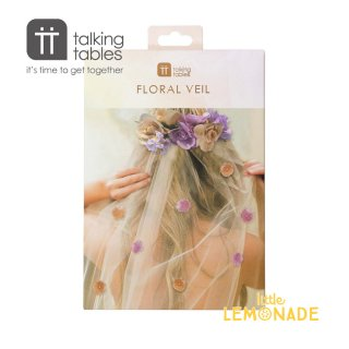 【Talking Tables】ブロッサムガールズ フローラルベール(BG-BRIDE-VEIL) トーキングテーブルス