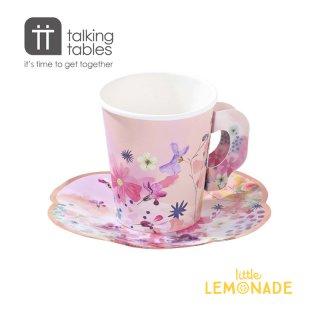 【Talking Tables】ブロッサムガールズカップ&ソーサーセット(BG-CUPSET) トーキングテーブルス