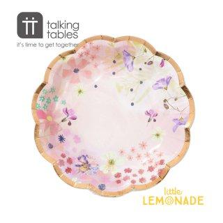 【Talking Tables】ブロッサムガールズスモールプレート(17cm)(BG-PLATE-S) トーキングテーブルス