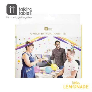 【Talking Tables トーキングテーブル】Office Party in a Box (BRIGHT-PARTYBOXOFF)