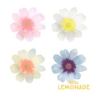 【Meri Meri】 お花のペーパーナプキン フラワーガーデン 4色16枚入り お花型の紙ナプキン (45-4366/188728)