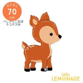 【フィルム風船】ガス無し バンビの風船 【小鹿 bambi パーティー バルーンデコレーション ベビーシャワー 誕生日 お祝い イベント メール便可】