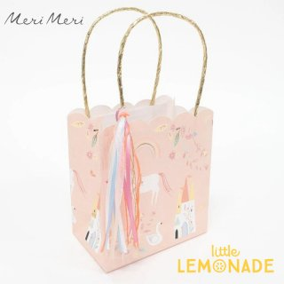 【Meri Meri】 マジカル プリンセス ペーパーバッグ 1枚 紙袋 (215209)