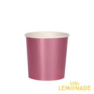 【Meri Meri メリメリ】 フォイルピンク ペーパーカップ 8個入り スモールサイズ 紙コップ Small Foil Pink Cup(182044)