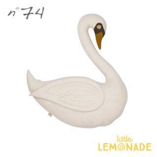 【Numero74 ヌメロ74】 ぬいぐるみ スワン クッショントイ Swan