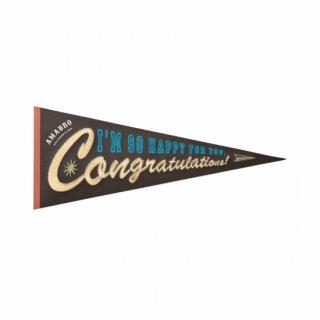 【amabro アマブロ】刺繍入り メッセージカード / Congratulations ◆SALE