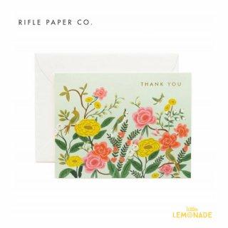 【RIFLE PAPER ライフルペーパー】サンクスカード/Shanghai Garden Thanks(オリエンタルサンクス) (GCT031)