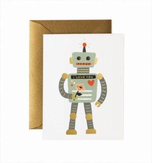 【RIFLE PAPER ライフルペーパー】ベイビーカード/Robot Love(ロボットラブ) (GCL031)