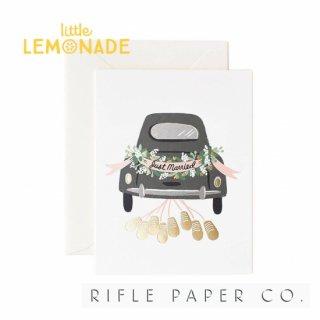 【RIFLE PAPER ライフルペーパー】マリーゲタウェイ/ メッセージカード JUST MARRIED GETAWAY(GCW008)
