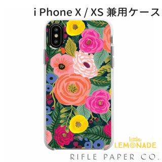 【RIFLE PAPER ライフルペーパー】iPhone X/XS 兼用ケース / JULIET ROSE(ジュリエットローズ) (PIC054-XS)