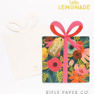 【RIFLE PAPER ライフルペーパー】プレゼントBOXデザイン ギフトタグ メッセージカード 花柄(GCB023)