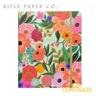 【RIFLE PAPER ライフルペーパー】2019年8月はじまり【2020年 スケジュール帳 】ガーデンパーティ/2020 GARDEN PARTY 花柄