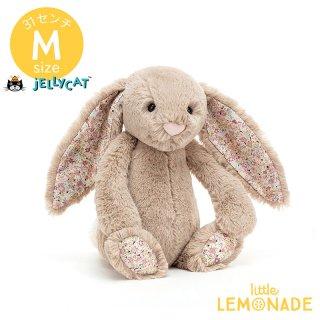 【jellycat】 Blossom Beige Bunny Mサイズ 花柄xベージュ うさぎ バニー ぬいぐるみ ジェリーキャット BLN3BB 【正規品】