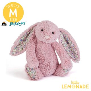 【Jellycat】 Blossom Tulip Bunny Mサイズ バニー 花柄xピンク うさぎ ぬいぐるみ ジェリーキャット (BLN3BTP)