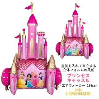 【自立型 特大フィルム風船】 エアウォーカー ディズニー プリンセス キャッスル シンデレラ城 ガス無しDisney Princess Castle air walker balloon