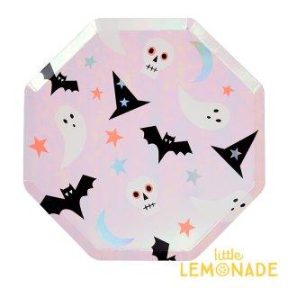 Meri Meri ハロウィン アイコン ラージプレート ハロウィーン パーティー Halloween 紙皿 (196836)