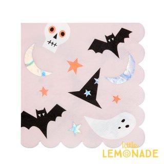 Meri Meri ハロウィン アイコン ペーパーナプキン ハロウィーン パーティー Halloween 紙ナプキン パーティーナプキン (196854) ■SALE 25%OFF