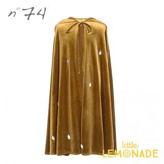 【Numero74 ヌメロ74】 子供用ケープ ベルベットケープ ゴールド ハロウィン liea cape velvet red gold ■SALE 25%OFF